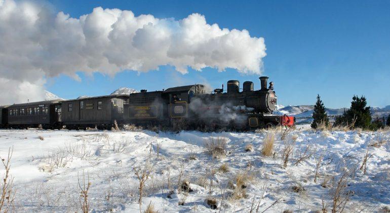 Invierno En Patagonia: La Trochita: El Invierno Sobre Rieles En ChubutPatagonia.net