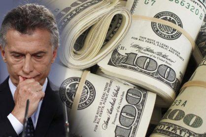macri y los dolares